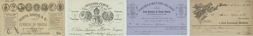 Banner associado à coleção Contas correntes mensais da Academia Politécnica do Porto