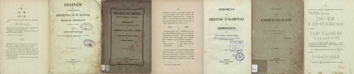 Banner associado à coleção dissertações de candidatura a concursos na Academia Politécnica do Porto