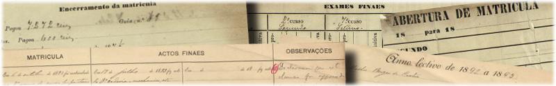Banner associado à coleção Livros de inscrições e exames da APP