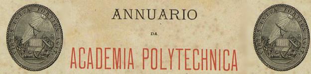 Banner associado à coleção Anuários da Academia Politécnica